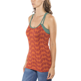 Red Chili Bintou Seamless Top Women spice